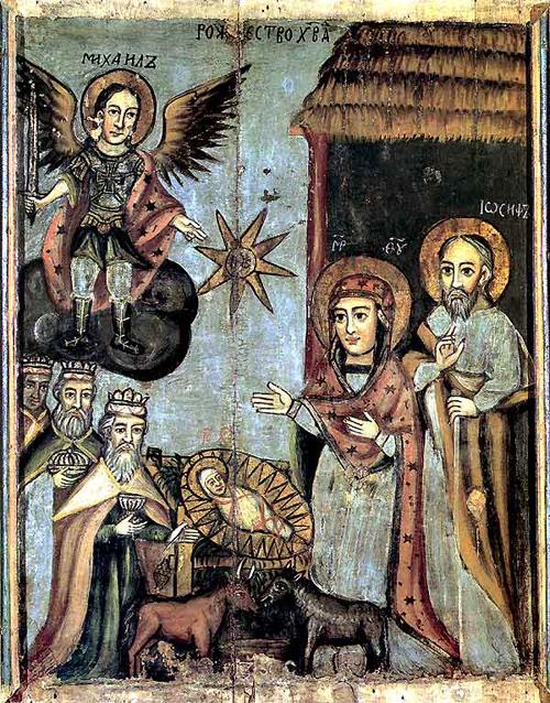 Рождество Христово, икона, Беларусь, 1746 г.