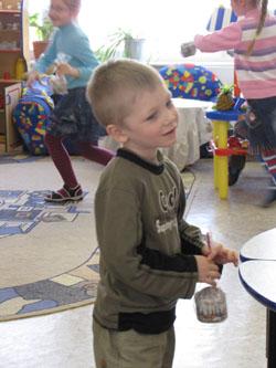 Поздравление детей-инвалидов на дому
