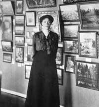 Выставка картин во дворце у Великой Княгини в Санкт-Петербурге