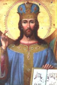 Григорий Журавлев. Икона Спасителя. Церковь Святой Троицы в с.Утевке