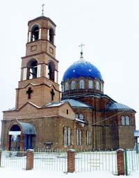 Церковь в честь Святой  Живоначальной Троицы в с.Утевке