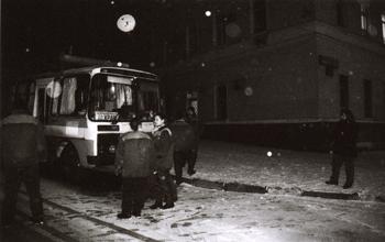 Новосибирцы чуть не замерзли в автобусе, заглохшем на трассе
