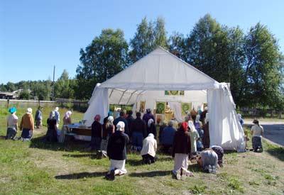 храм-палатка во имя свт. Филарета Московского