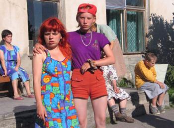 Фото деревенских девушек серьезные фото 116-239