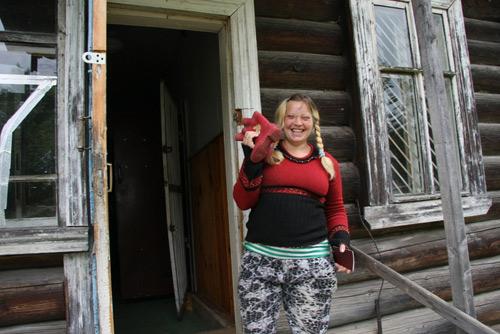 Баба из деревни фото