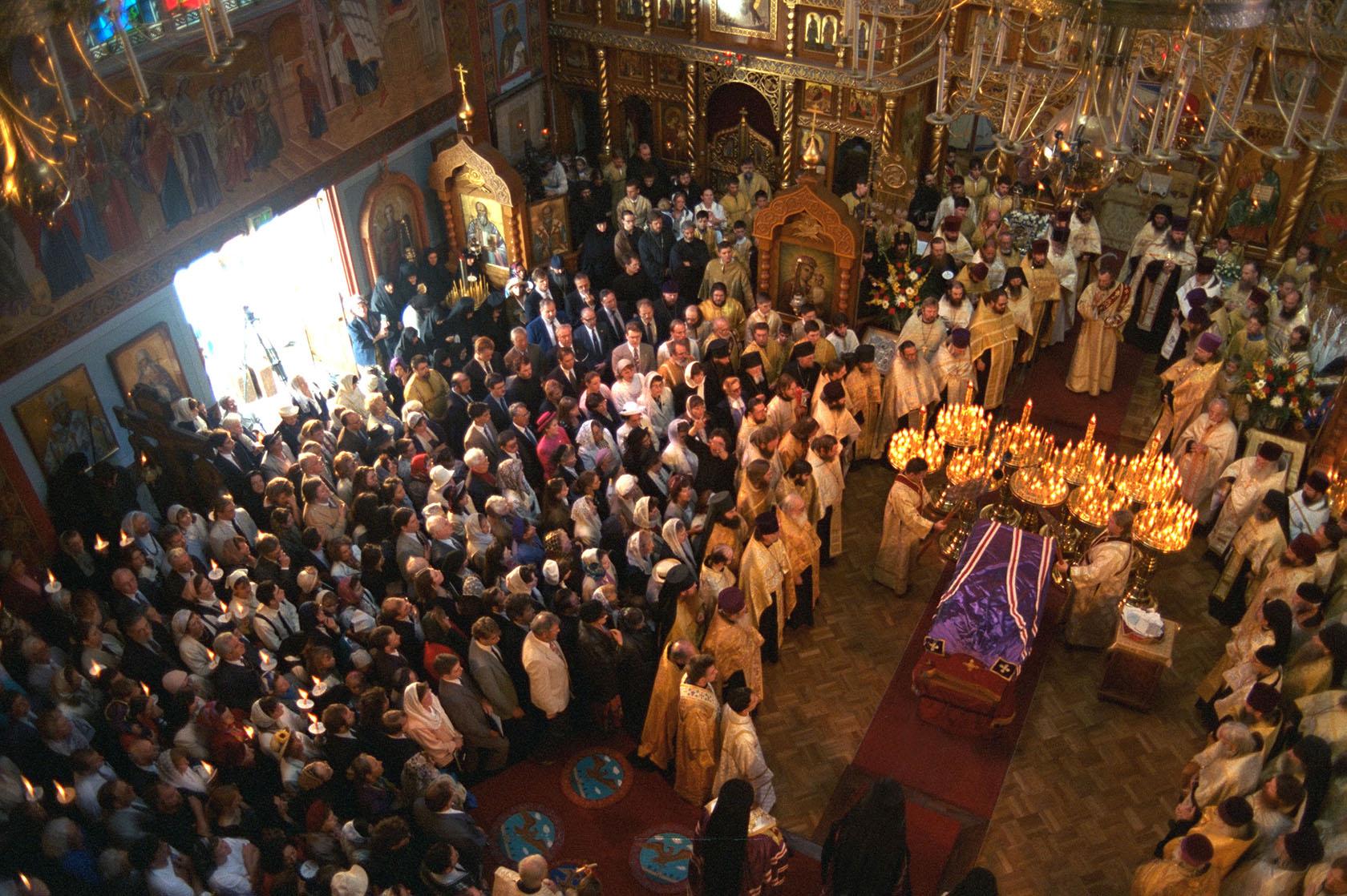 Прославление святителя Иоанна Шанхайского и Сан-Францисского чудотворца