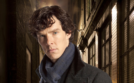 ТSherlockУ Р A fast-paced, witty take on the legendary Sherlock Holmes crime novels, now set in present day London and starring Benedict Cumberbatch (The Last Enemy) as the Baker Street sleuth and Martin Freeman (The Office UK) as his loyal sidekick Doctor Watson. Shown: Benedict Cumberbatch as Sherlock Holmes