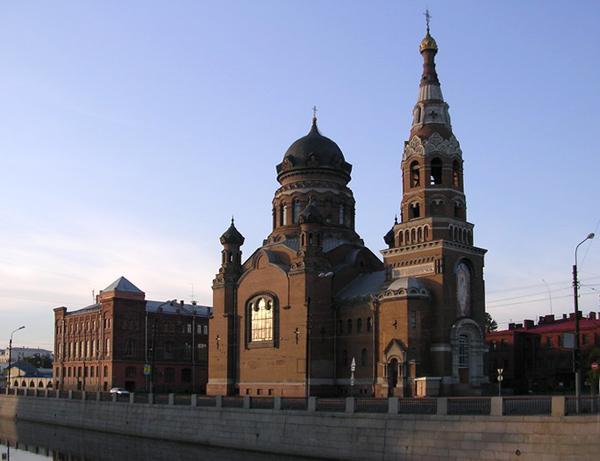 3. Храм Воскресения Христова у Варшавского вокзала