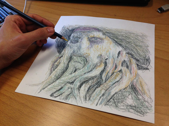 left-hand-drawing