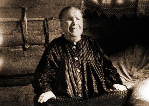 Фотография блаженной старицы Матроны. Матрона Дмитриевна Никонова. 1881г. - 2 мая 1952 г.
