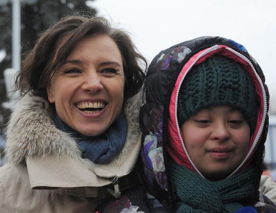 Ребенок Алферовой и Бероева с синдромом