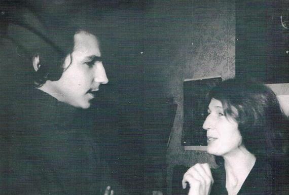 Сын Андрей и Юлия Вознесенская и её