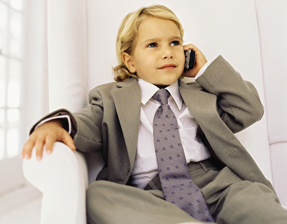 child-on-phone