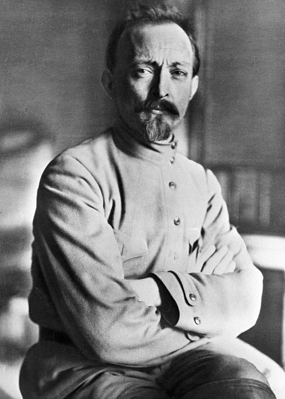 Председатель ВЧК-ОГПУ Феликс Эдмундович Дзержинский (1877-1926 г. г.).