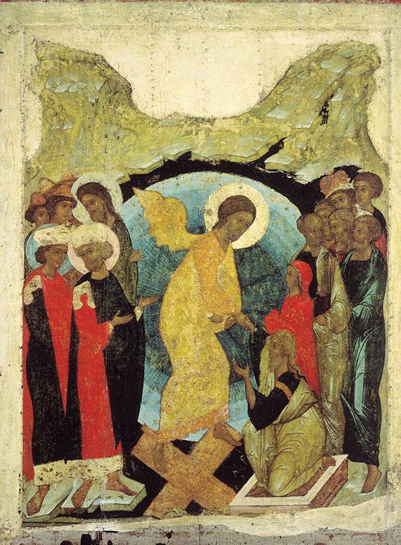 Harrowing_of_hell_from_Vasilyevskiy_chin_(1408,_Tretyakov_gallery)
