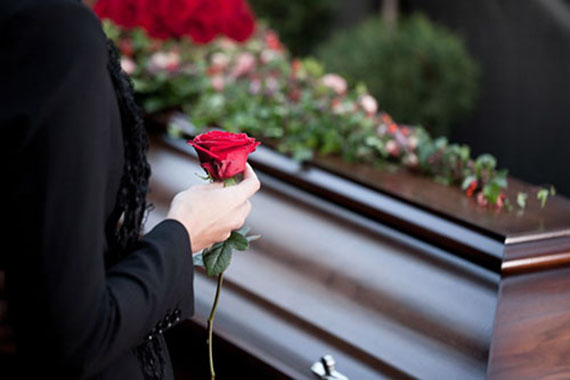 какие цветы на прощание с умершим