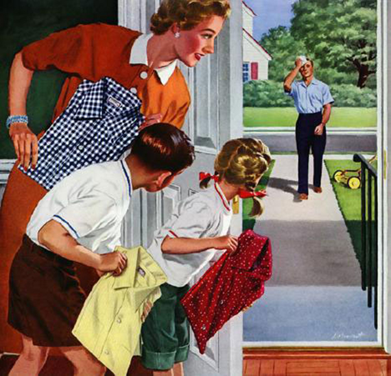 1950s American family values