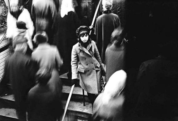 guy le Querrec escaliers du métro 1980s