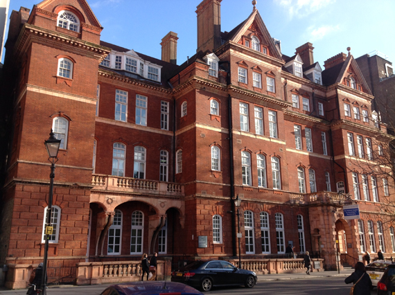 National Hospital for Neurology and Neurosurgery, Queen Square, 19/01/2015