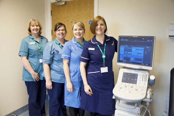 Submitted pictures of a SEQOL advanced nurse practitioner, Jo Boyd, winning a British Journal of Nursing Award. There is a picture attached. Caption (l-r) : Assistant practitioners Linda Clements and Lisa Platt, pathway nurse Lucy Reynolds and advanced nurse practitioner, Jo Boyd. April 2015