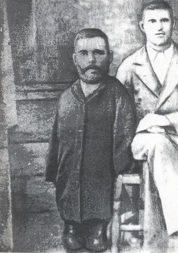 Григорий Журавлёв с братом Афанасием.