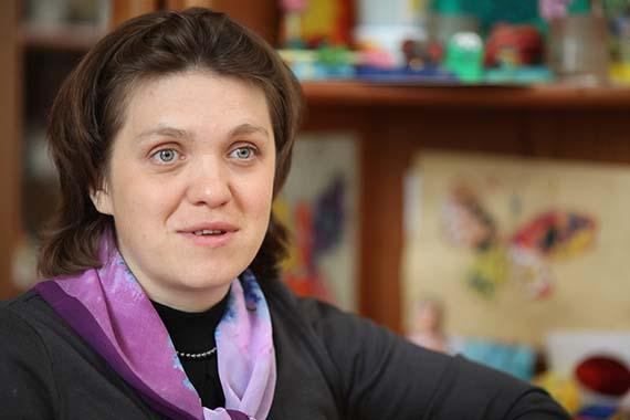 Ксении Коваленок, руководителю детского хосписа при Марфо-Мариинской обители Милосердия.