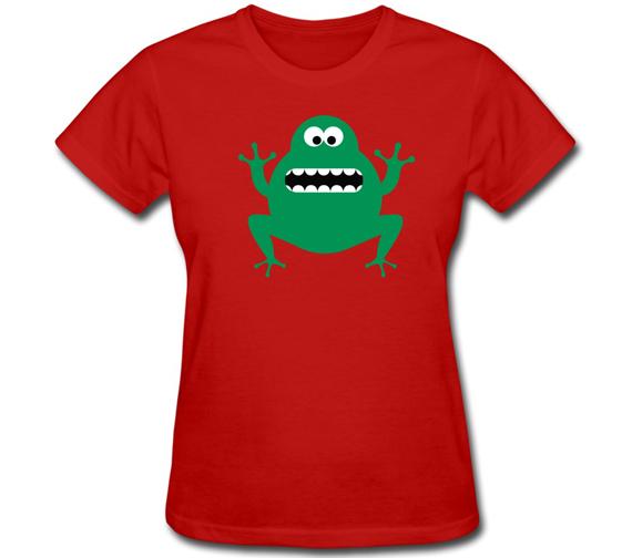 Make-Own-Short-Sleeve-Women-s-T-Shirt-font-b-Crazy-b-font-Funny-Animal-font