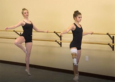 Белокожая Балерина Без Комплексов