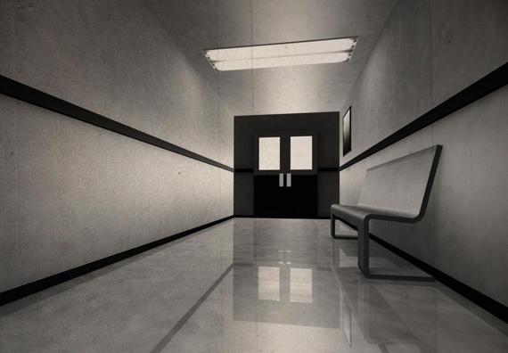 empty-corridor-with-black-doors
