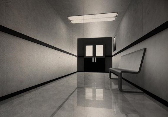 empty-corridor-with-black-doors