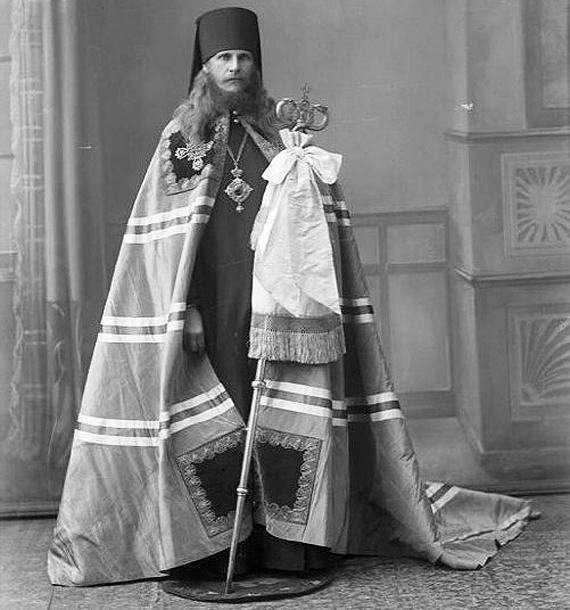 Епископ Петр. 1919 год.Фото с сайта wikipedia.org