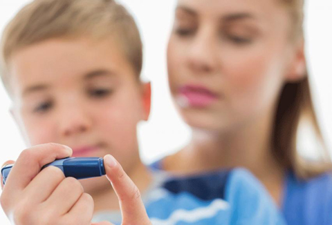 У кого ребенок болеет диабетом
