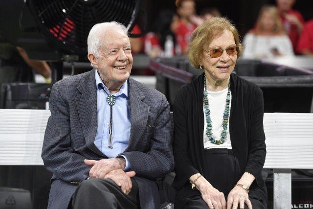 Джимми и Розалин Картер. 2018 года. Фото: AP/TASS