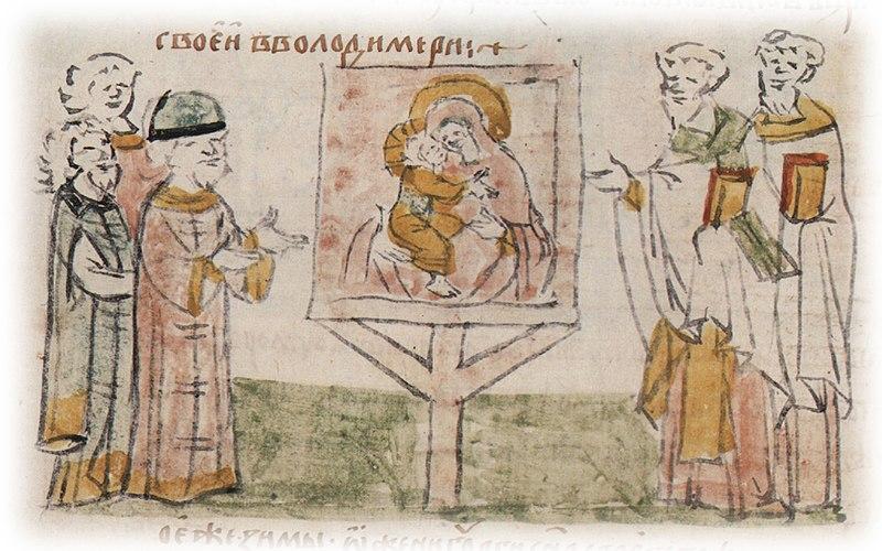 Это изображение имеет пустой атрибут alt; его имя файла - 800px-postavlenie_vladimirskoj_ikony_vo_vladimirskoj_bogorodczkoj_czerkvi.jpg